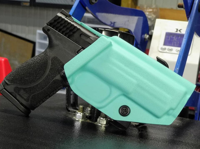 "S&W M&P 4.25"" Epsilon Paddle Holster Tiffany Blue"
