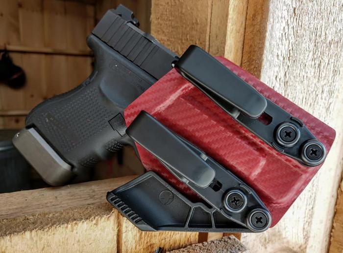 Glock 26 27 Appendix Carry Holster Carbon Fiber