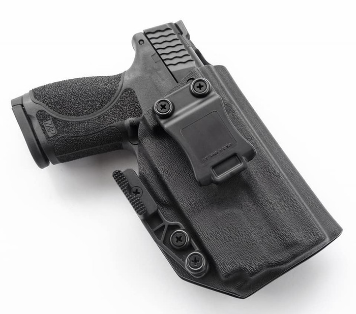 "S&W M&P 2.0 4"" with O-Light PL Mini Holster"