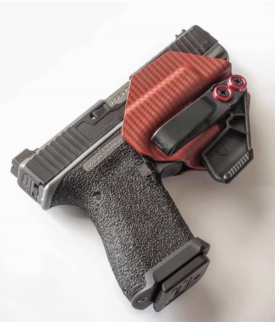 Glock 19 Minimalist Holster Carbon Fiber