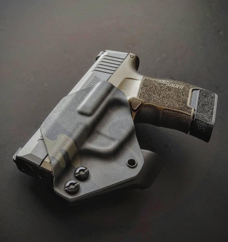 Sig P365 Minimalist Holster Black Multicam