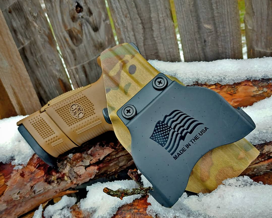 FNS 9c Paddle Holster