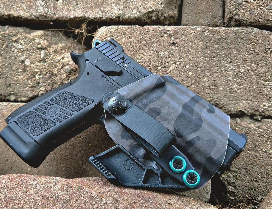 CZ P-07 Black Multicam Holster