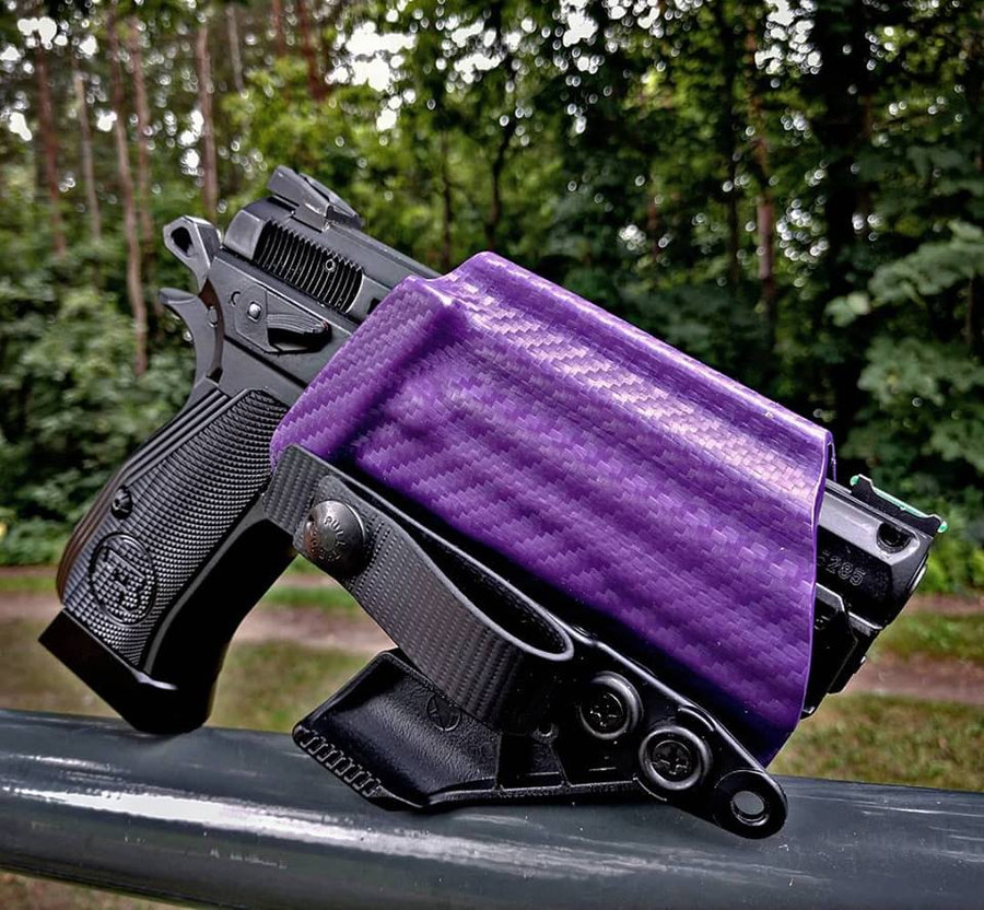 CZ P-01 Purple Minimalist Holster