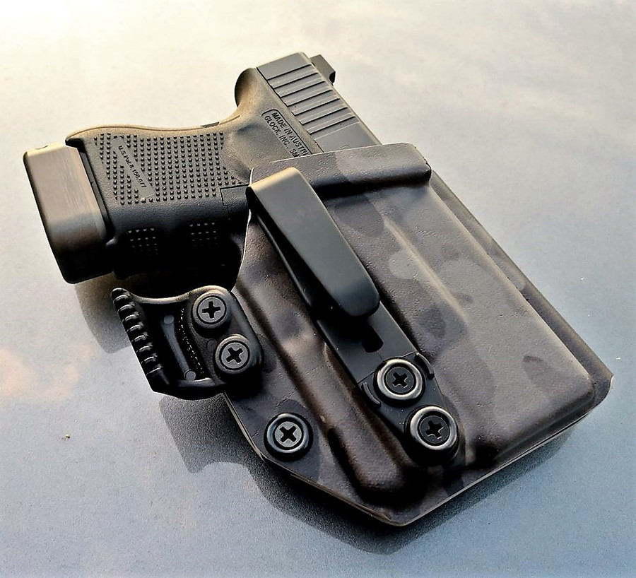 Glock 26 with Streamlight TLR6 Appendix Carry Holster
