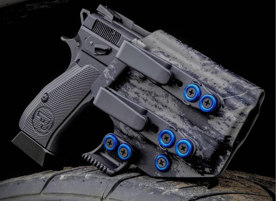 CZ P-01 with O-Light PL Mini Holster