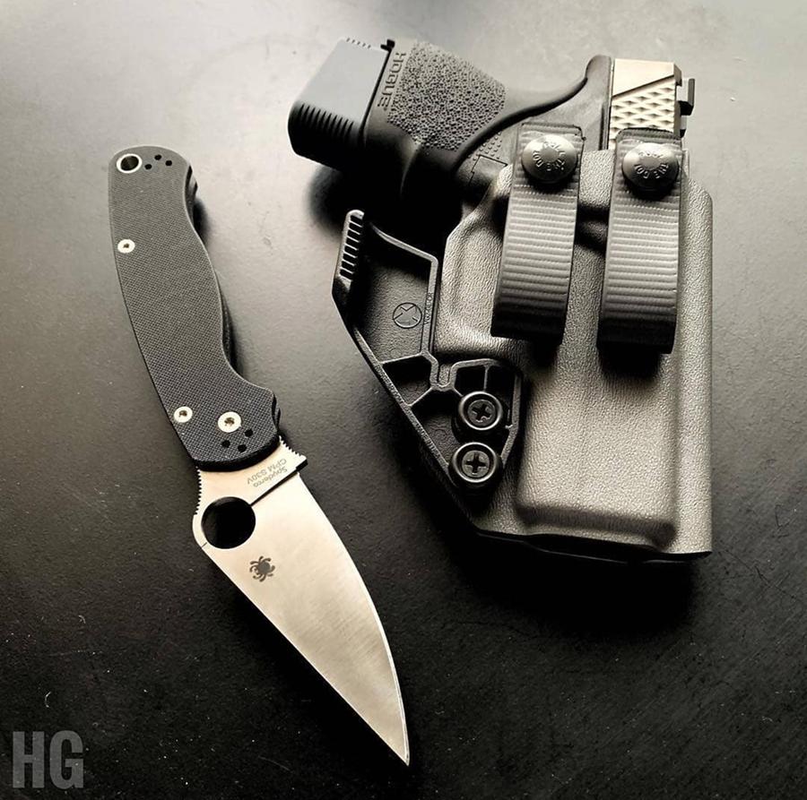 Glock 43 Appendix Carry Holster