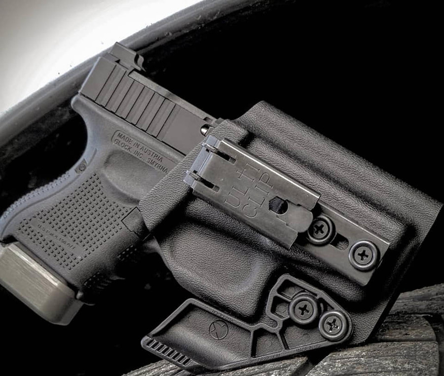 Glock 26 Utliclip XL Beltless Carry Holster
