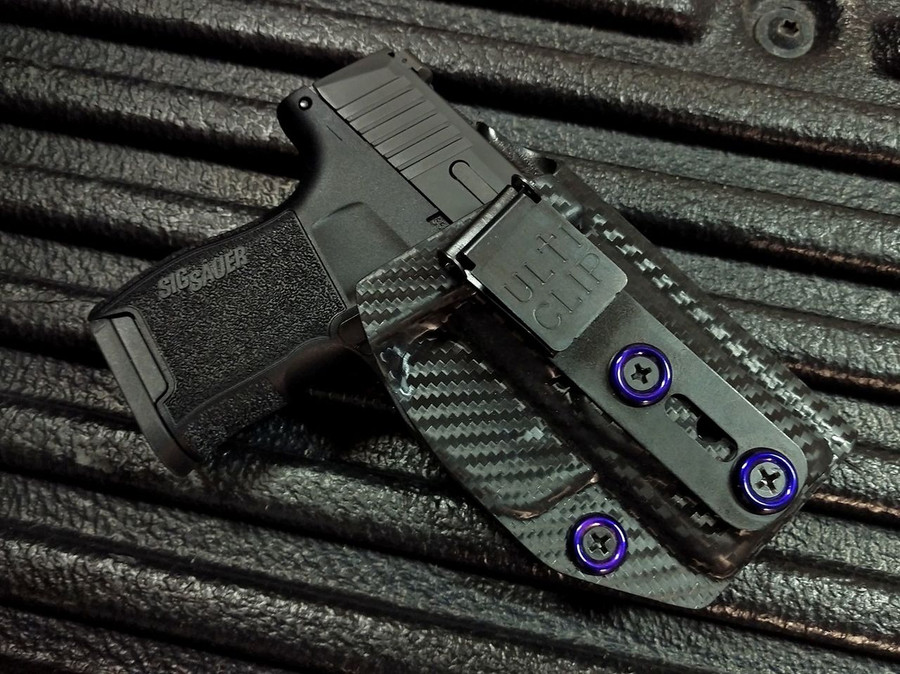 Sig P365 Utliclip  Beltless Carry Holster