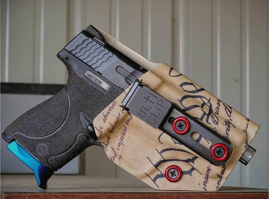 M&P Shield Beltless Carry Holster