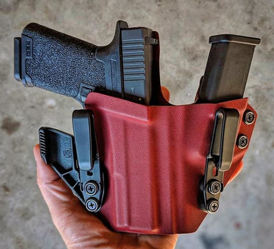 Glock Poly 80 Sidecar Appendix Carry Holster
