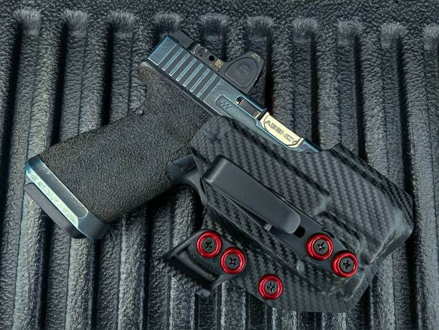 Glock 19 with APLc Appendix Carry Holster