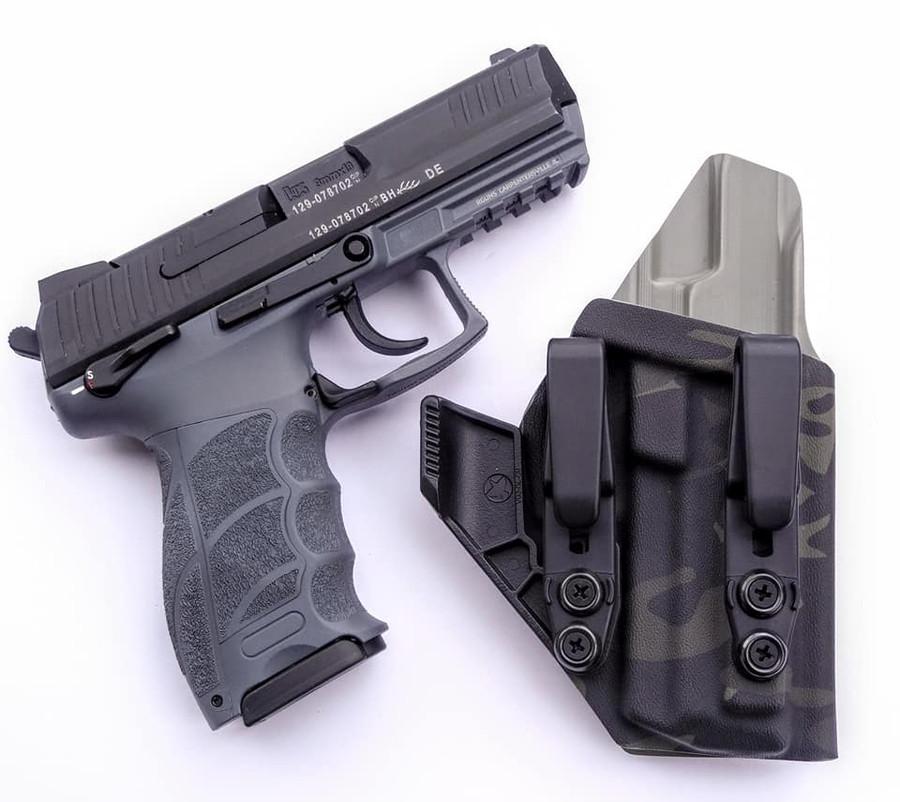 HK P30 Appendix Carry Holster Black Multicam