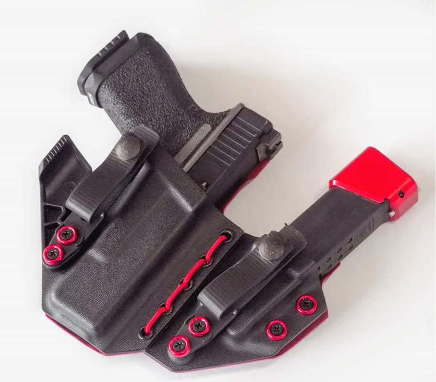 Glock 19 Appendix Carry Holster with Shockcord