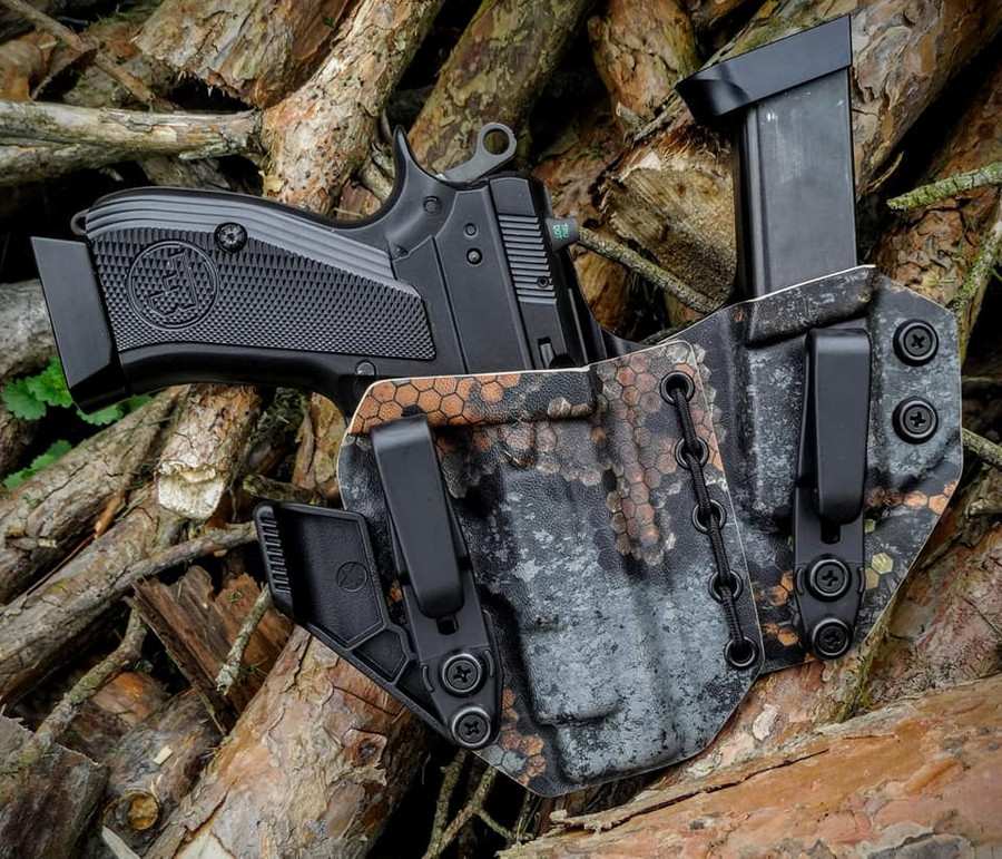 CZ PCR Appendix Carry Holster with Shockcord