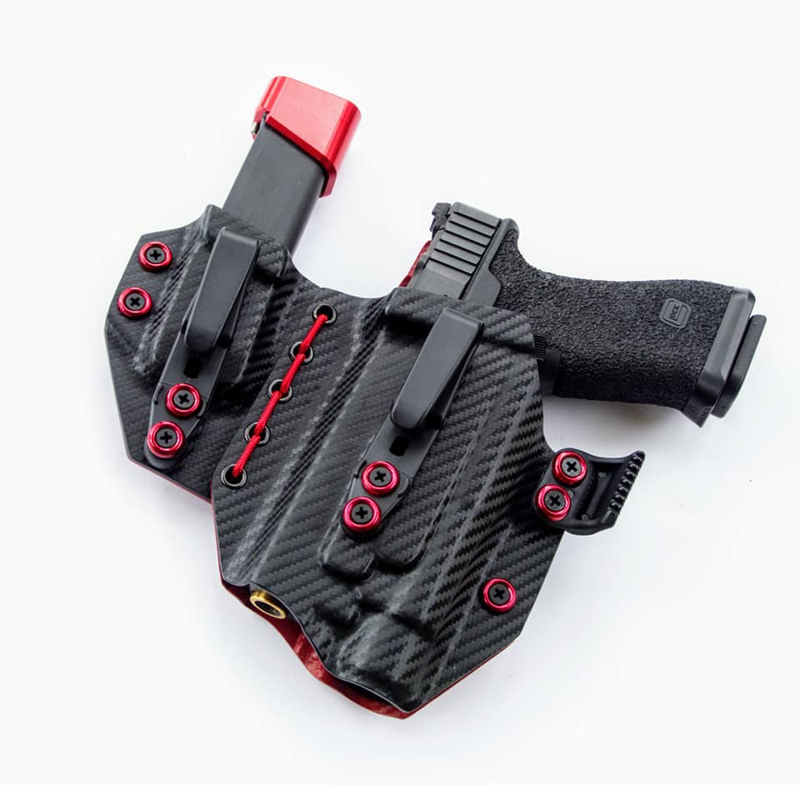 Flexible Sidecar for Glock 17 Streamlight TLR1