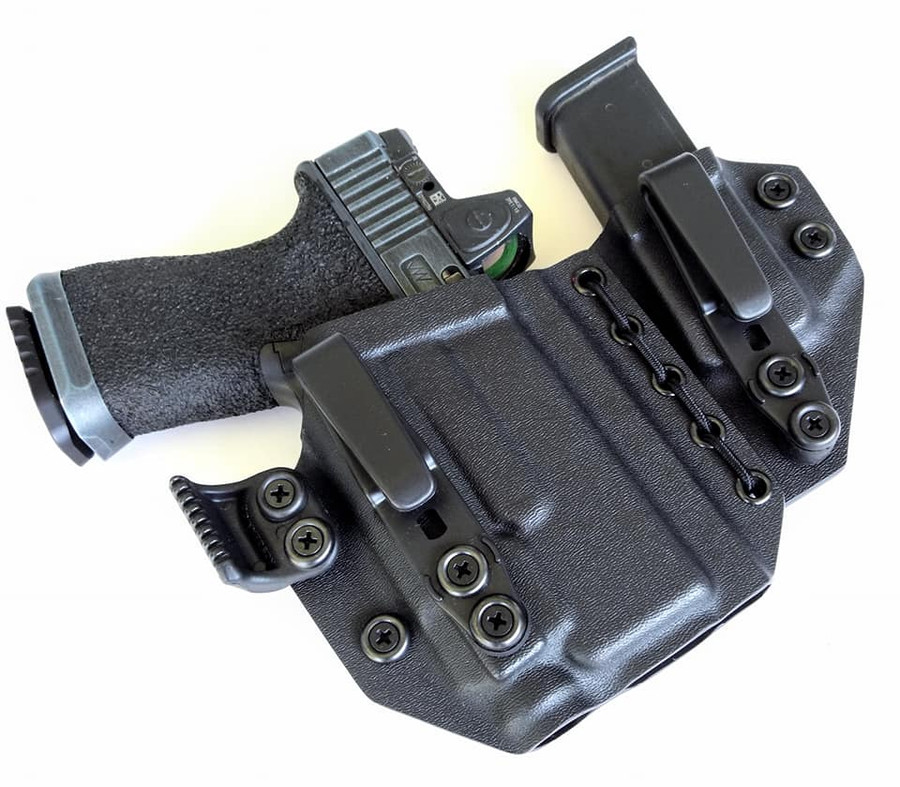 Glock 19 with Streamlight TLR7 Flexible Appendix Carry Holster