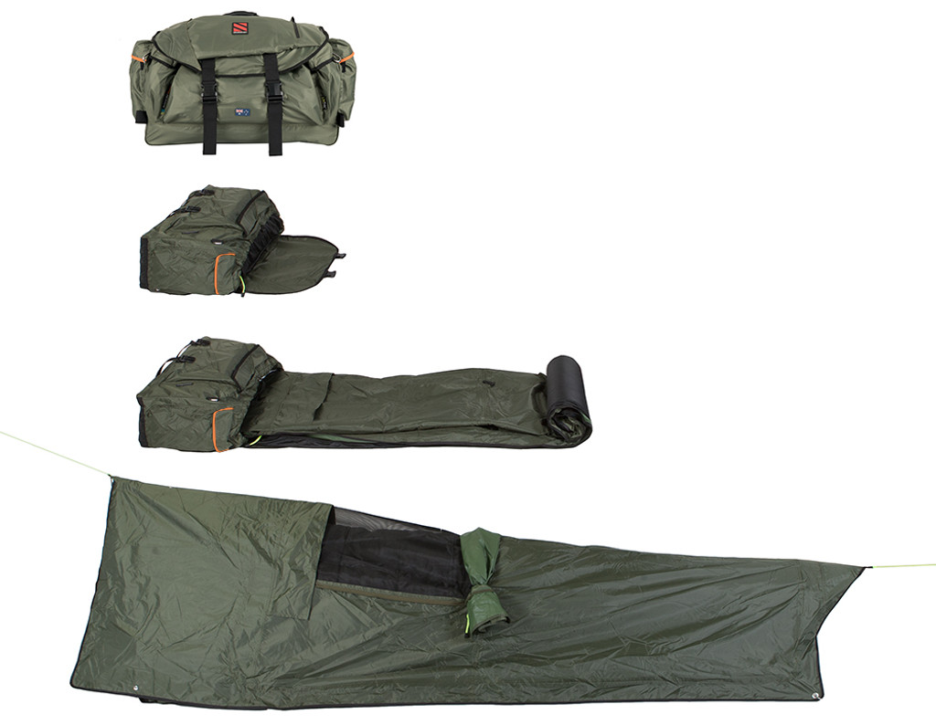 SEASONFORT EXPANSE Backpack Bed, from backpack to bed