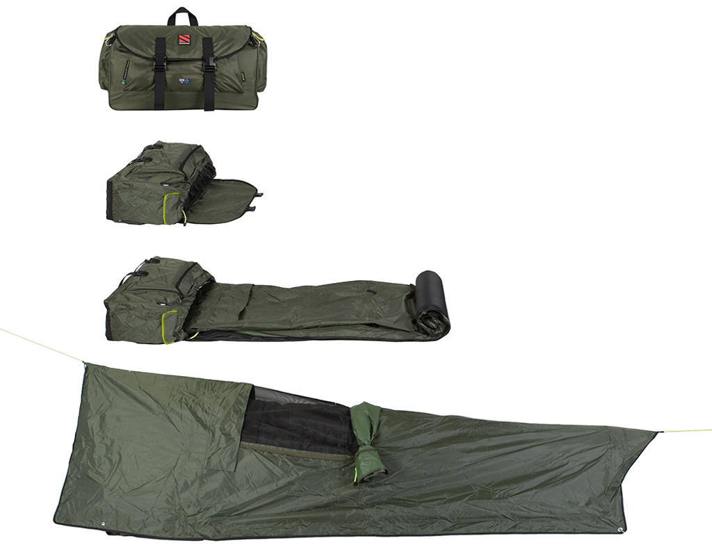 SEASONFORT UNTAMED Backpack Bed, from backpack to bed