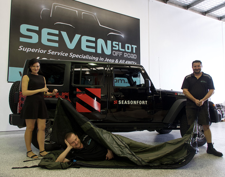 SEASONFORT 4x4 Jeep Wrangler Rubicon beast raises the bar