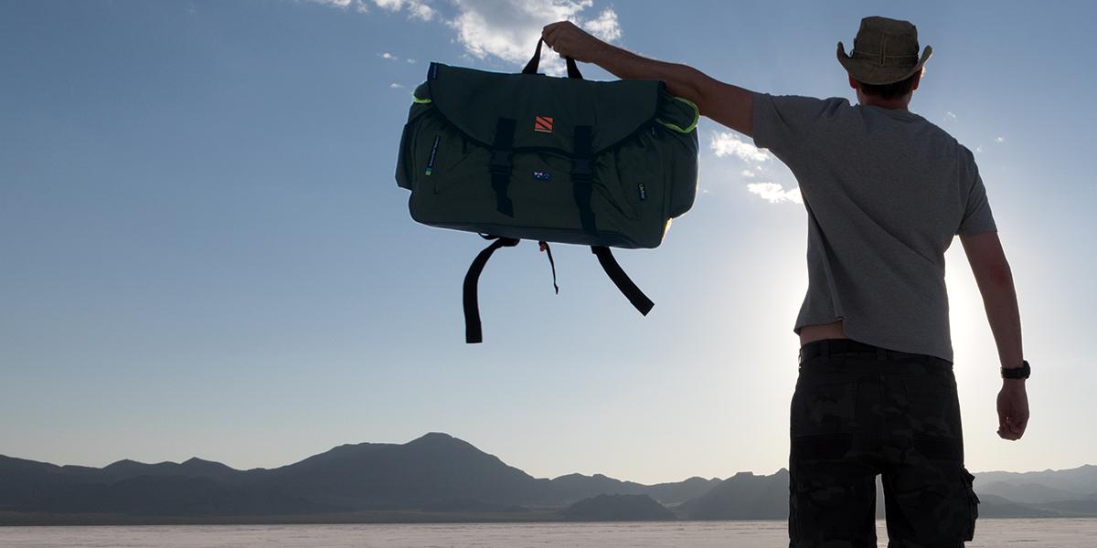Backpack + Tent + Mattress + Shelter