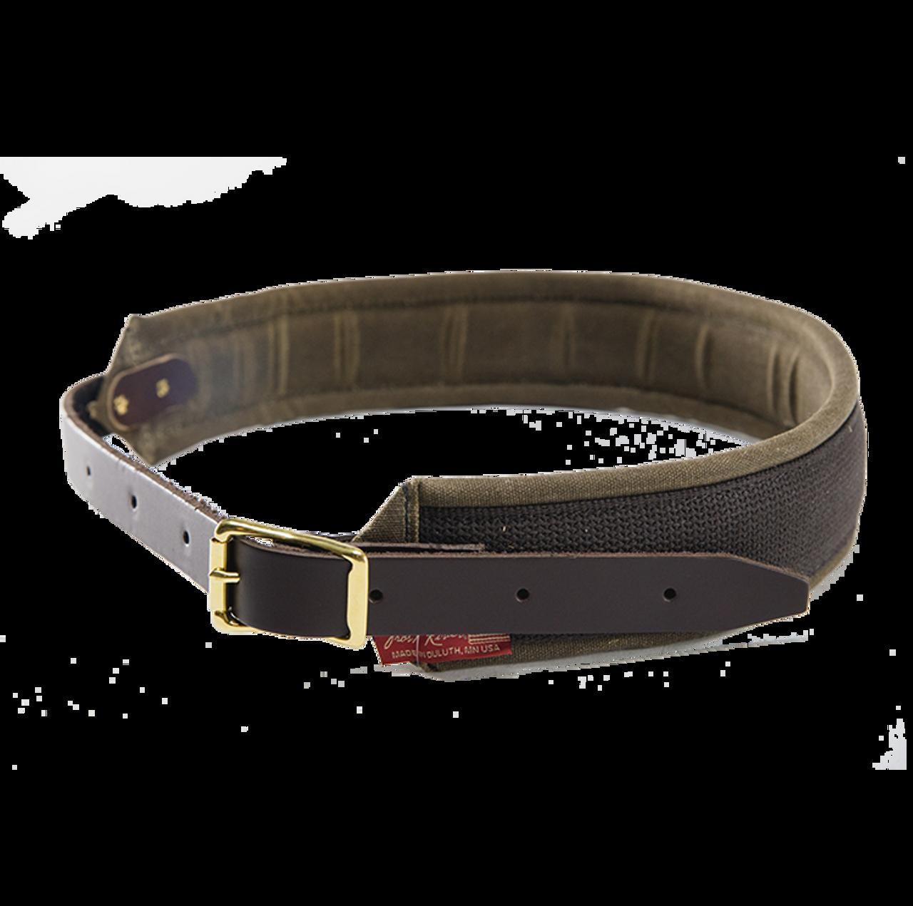 Size 40 All Leather Black George Belt XL