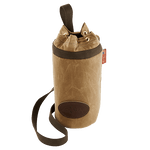The Sling Growler Pack is made in America out of premium materials. The top allows for easy closure and pouring without removing the growler from the pack.