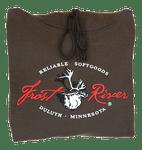 Frost River Hooded Sweatshirt, Brown