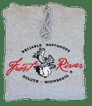 Frost River Hooded Sweatshirt, Grey