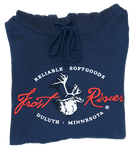 Frost River Hooded Sweatshirt, Navy
