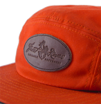 hand-burnt Frost River leather logo