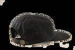 Heritage Black waxed canvas adjustable hat