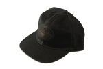 Front, Heritage Black waxed canvas cap