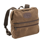 This small yet durable and useful bag has a front pocket for pens, pencils, and snacks. The cotton webbed straps are comfortable and sure to last for years to come.