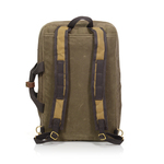 The backpack straps are slightly padded to add comfort and durability to this already high quality bag.
