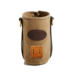 The BWCA Insulator will keep your beverage hot or cold while you are out in the wilderness. The D-rings and lash square are both options to carry this made in America accessory around.