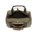 This bag is made of premium materials in Duluth, MN at Frost River. This product is durable and ready for an adventure!