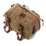 This item pairs well with panniers and has lash squares to hold other items on your adventure.