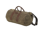 This bag is circular and able to hold anything due to its size variability. This product is made in the USA at Frost River.
