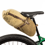 The Wakemup Rolltop Bike Bag is made in America and proudly sold at Frost River.