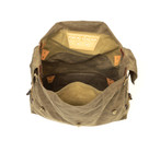 This pack is large! it is sure to hold everything you may need on your adventure. There is one slip pocket for added storage.