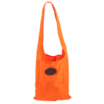 Hunter Orange Urban Foraging Tote, lightweight 10.10 oz waxed canvas. This product is more viable due to its bright color.