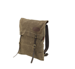 Utility Pack Small No.761 by Frost River. This pack is an envelope style pack that has two leather fastening straps, solid brass hardware, and a tumpline. This pack is made in the USA and crafted from the highest quality of materials.
