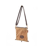 Wear the Windigo as a cross-body shoulder bag by pairing it with a cotton web shoulder strap.