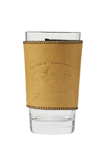 Premium Buckskin Pint Sleeve. Made in the USA at Frost river.
