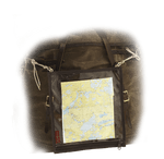 This Map Case is reliable and will keep your map safe from the elements. The solid brass grommets will secure the Map Case to the pack or canoe. This product is made in the USA in Duluth, MN.