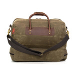 The cotton shoulder strap and leather handles are both reliable and will carry your bag  for a long time.