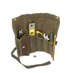 The Tool Roll has multiple pockets and organizational features to keep  everything in order.