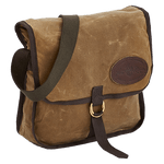 The Grand Marais Mail Bag is made of waxed canvas, webbed cotton, and solid brass hardware in Duluth, MN at Frost River.