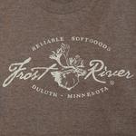 Distressed Logo T-shirt, Tri-Coffee